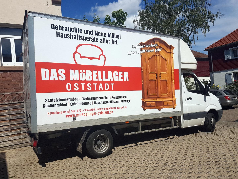 Das Möbellager Durlach Leistungen